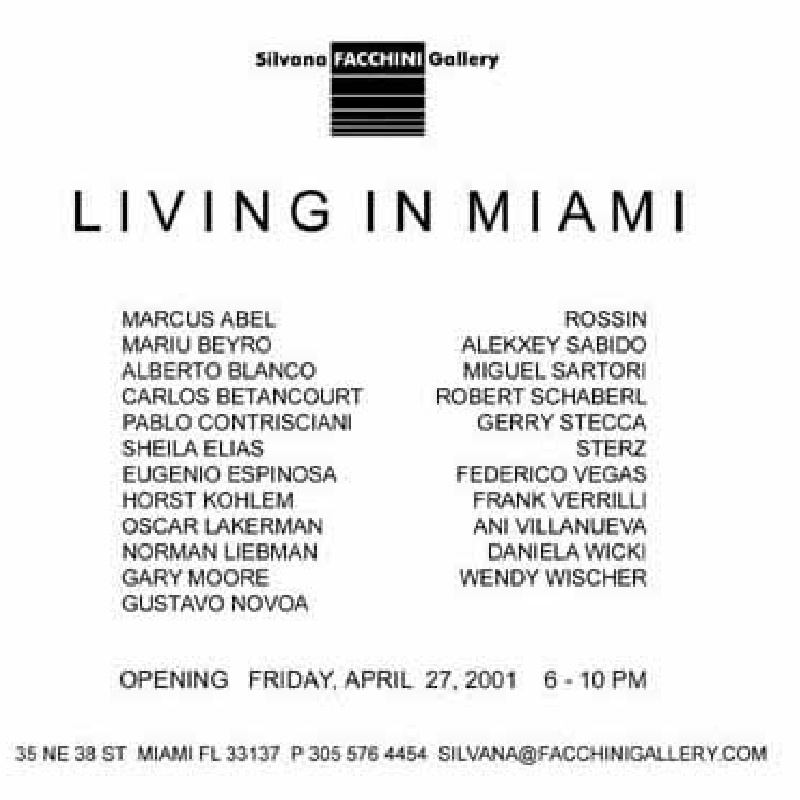Living In Miami (Group Show)