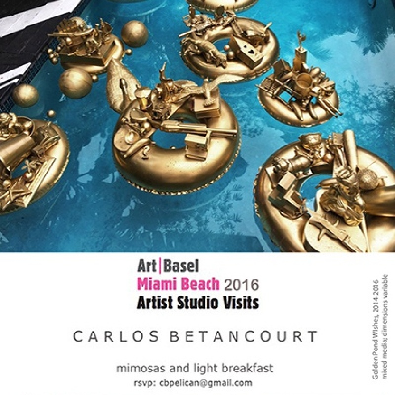 ART BASEL offcial STUDIO VISits program