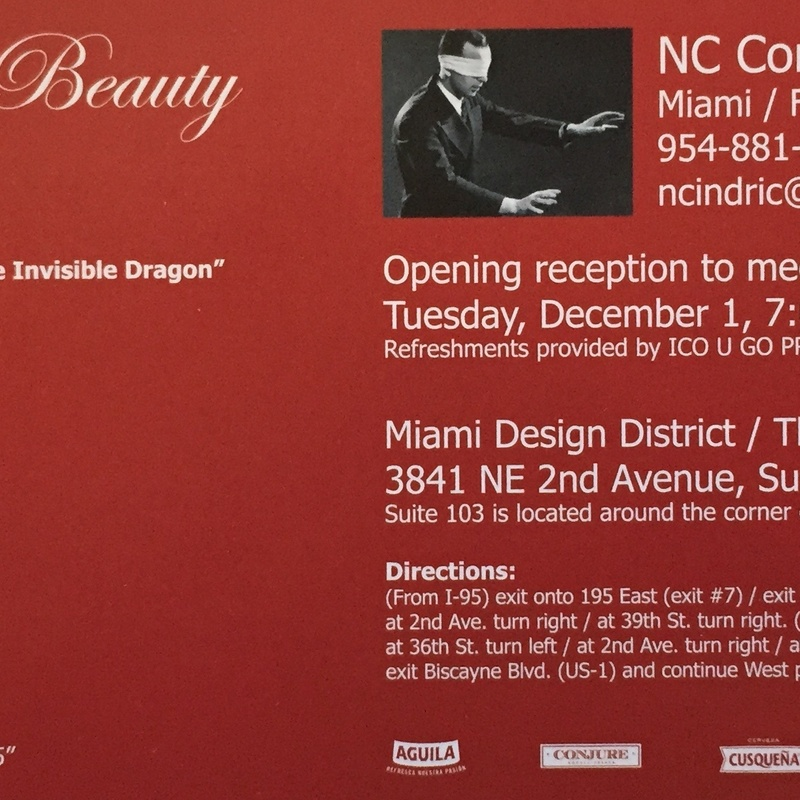 He Believes in Beauty group exhibit NC Contemporary