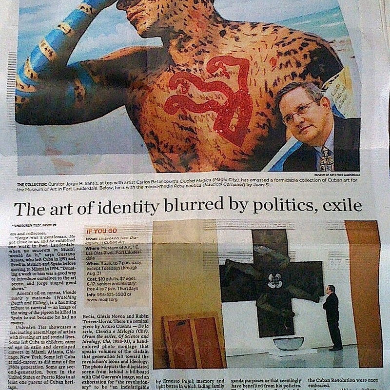 THE MIAMI HERALD art review