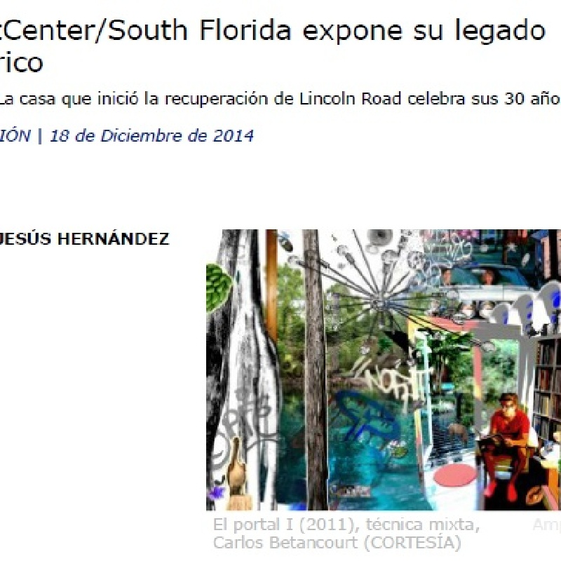 DIARIO LAS AMERICAS Art Center Exhbi